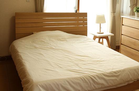 ベッド解体処分