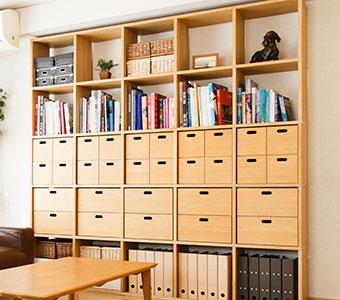 本棚、食器棚